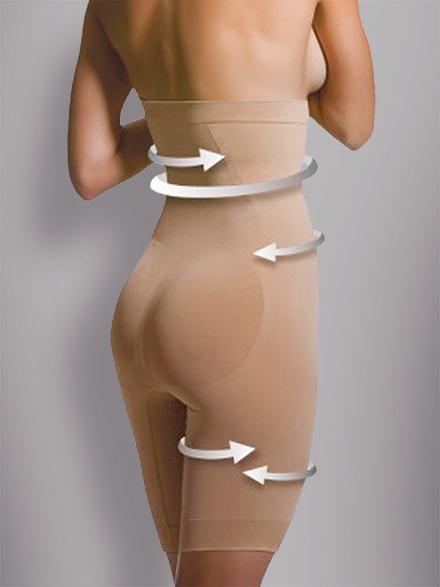 Anti-Cellulite Shapewear / Korkea vyötärö
